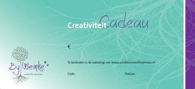 Cadeaubon webshop €25