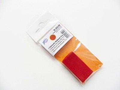 Wasblokje donker-rood