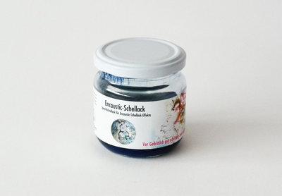 Shellac Blauw