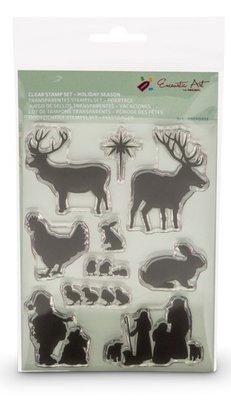 Clear stamps feestdagen